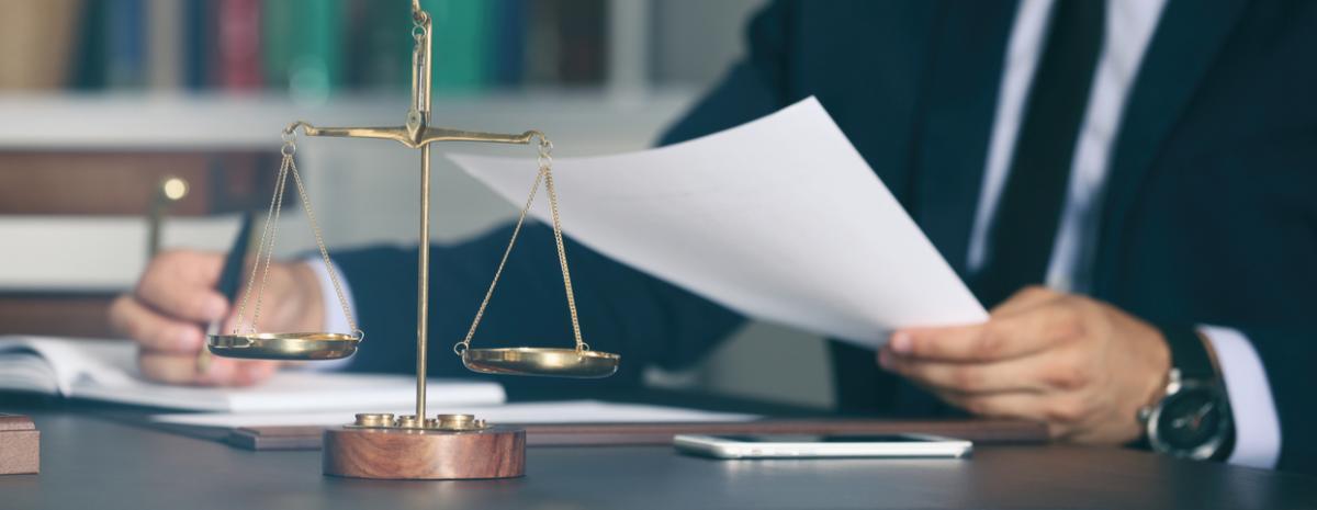 law office desk