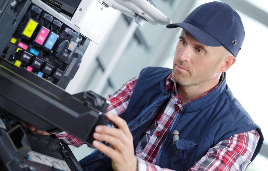 repairing printer