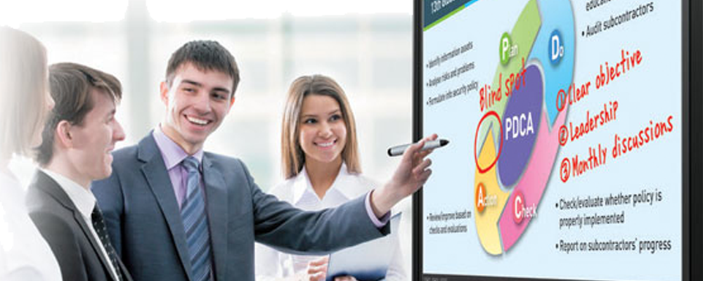 professional displays, LCD monitors, LCD displays, interactive, large-format displays.